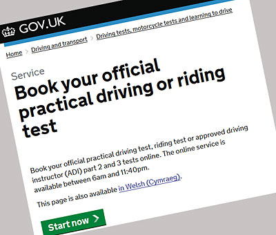 practical driving test west lothian
